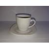 12 pcs set of Espresso porcelain cup & saucer HoReCa